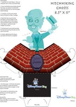 Make your own Hitchhiking Ghosts of the Haunted Mansion at #Disney Magic Kingdom! #WDW