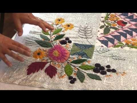 "ENGLISH version - Mystery Quilt 2015 : ""COLMAR"" by La Fée Pirouette - Bl..."