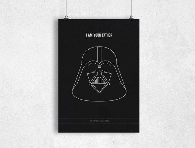 GWIEZDNE WOJNY V - B2 - plakat filmowy na prezent - Star Wars