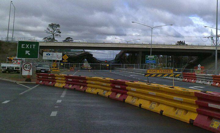 Bridge collapse 2010