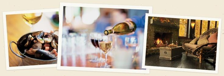 Dinner   Menus   Food & Wine   River Café Restaurant