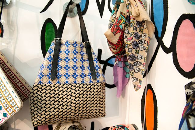 Hand-Printed Bags & Scarves by Yarnz for S/S 2013 ~ SOLIFESTYLE