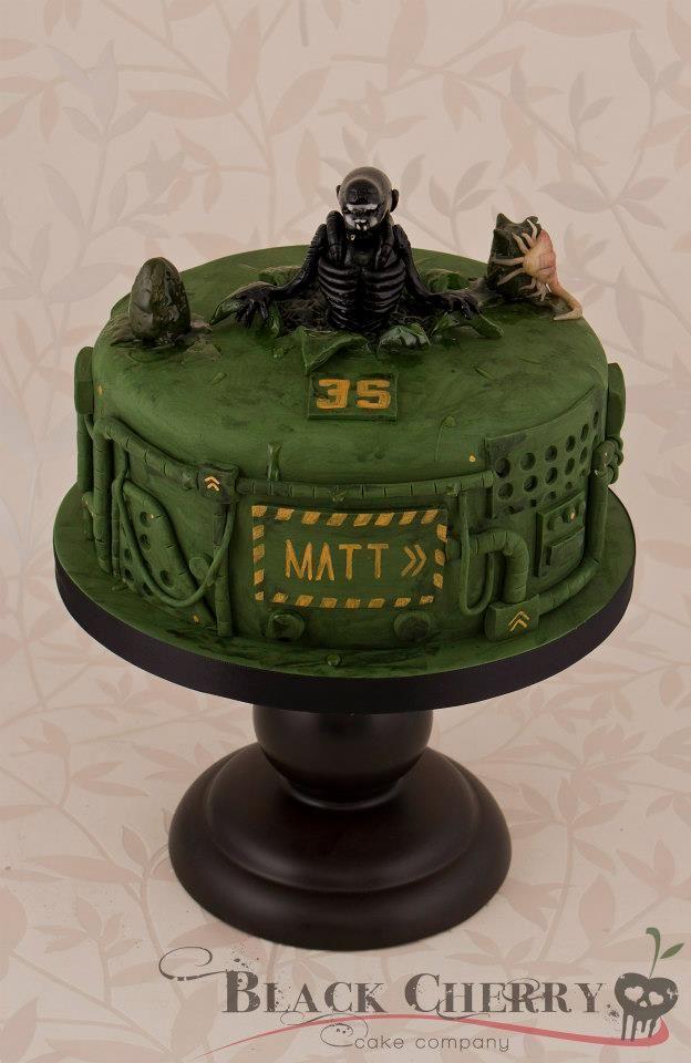 Xenomorph Birthday Cake