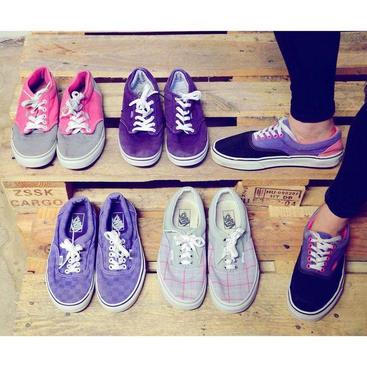Dancing shoes 💜  Awesome selection purple and pink vans off the wall sneakers.   #szputnyik #footwear #szputnyikshop #vans #era #vansera