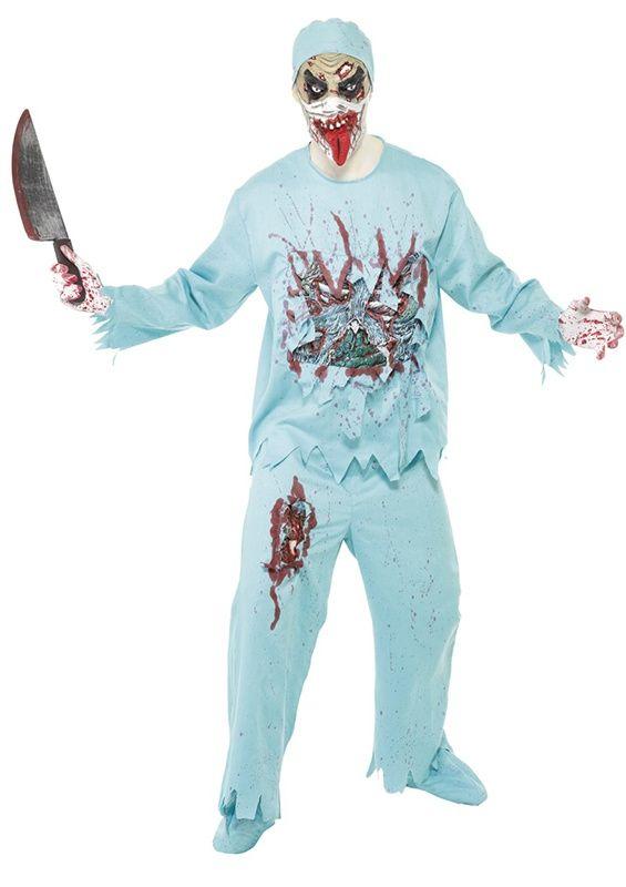 Lekarz zombie wystraszy wszystkich pacjentów i zrobi wrażenie podczas Halloween i nie tylko