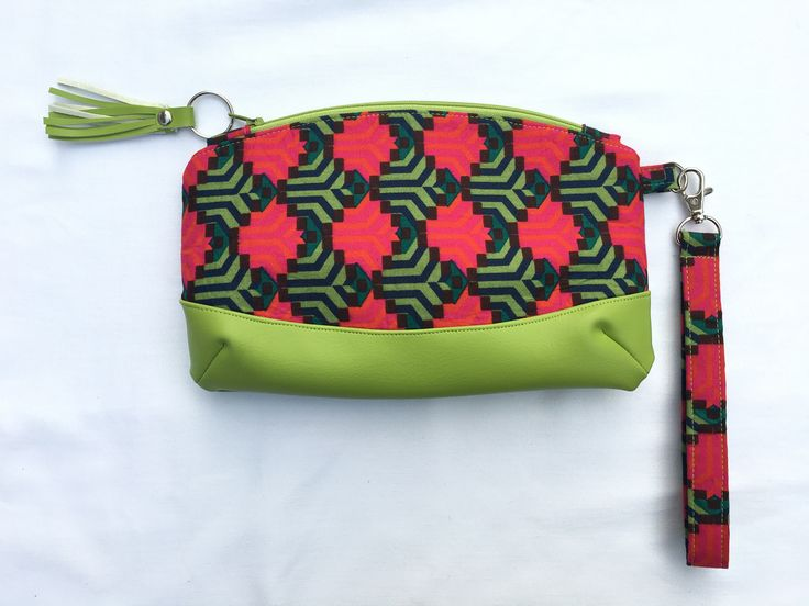 A personal favourite from my Etsy shop https://www.etsy.com/uk/listing/538045971/red-green-purse-travel-clutch-bag-red