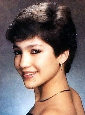 Jennifer Lopez high school teenager picture - American Actor, dancer, singer. Born on July 24, 1969 in New York City, NY