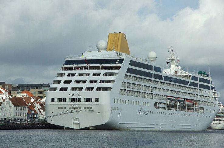 @CharlesHurford posts this lovely aft shot of Adonia in Stavanger. #ShipShots