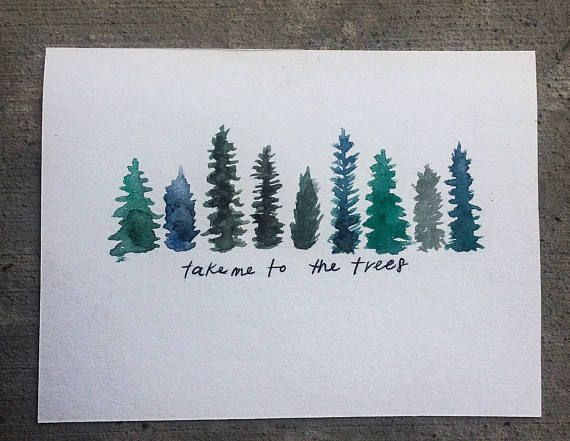 Take Me to the Trees Painting
