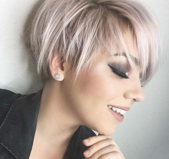 Haare pastell apricot