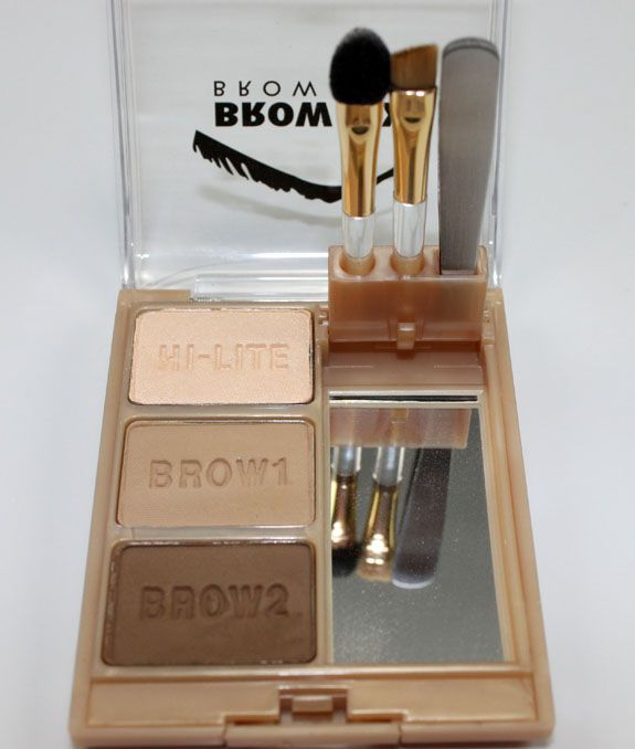 Milani eye brow all-in-one.  Cheaper alternative to Too-Faced and Anatasia brow kits.