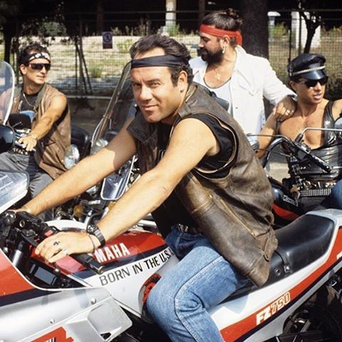 #troppoforte #carloverdone #carletto #yamaha #fz750 #roma #anni80 #cult #spaghetticomedy