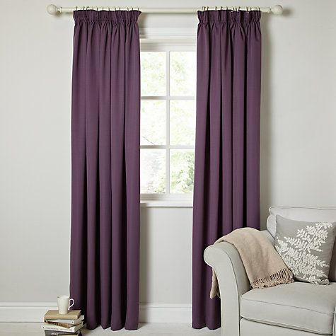 Buy John Lewis Sophie Lined Pencil Pleat Curtains Online at johnlewis.com