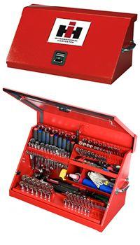 International Harvester Slant Lid 30 Inch Tool Box