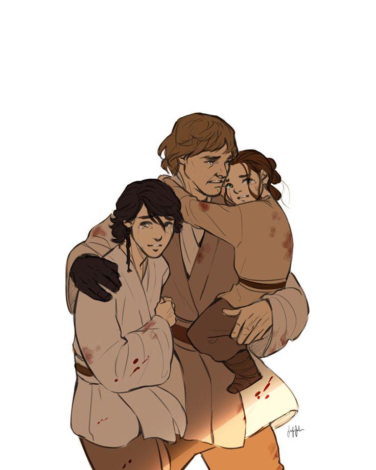 #Star Wars  #Luke Skywalker   #Kylo Ren  #Ben Solo  #Rey
