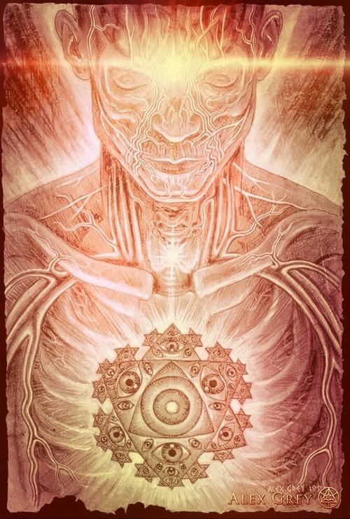 Mystic Eye by Alex Grey