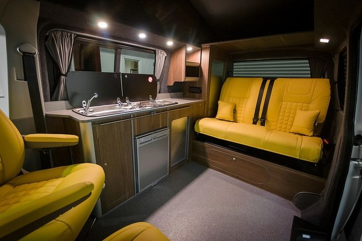 Campervan interiors carry on campervanning pinterest for Campervan interior designs