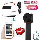 Wireless Spy Nanny Cam WIFI IP Pinhole DIY Digital Video Micro Dvr Mini Camera P