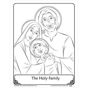spiritual gifts coloring pages | A spiritual gift idea for Fathers plus Brother Francis ...