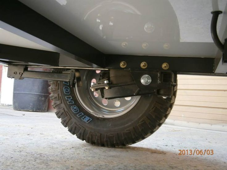 The 510 uses a Timbren Axle-Less off-road suspension set-up