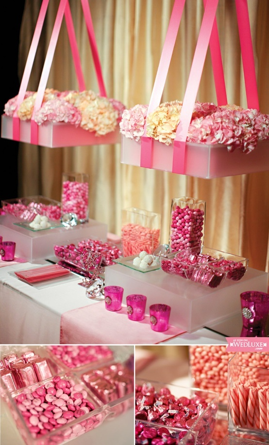 Special sweet table for Quinceañeras!