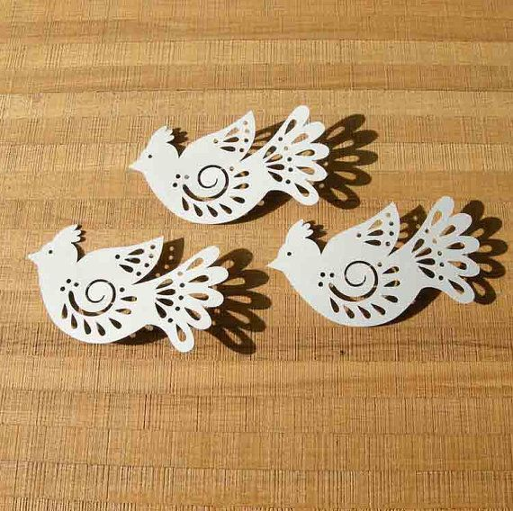Dove  SVG cutting file for cutting machine by paperlunies on Etsy, $2.50