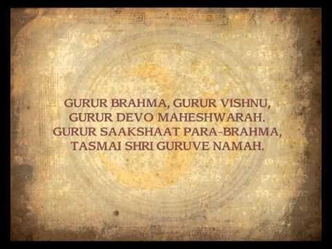 This collection is the oldest and most powerful of Sanskrit mantras. Gurur Brahma, Gurur Vishnu Karaage Vasate Lakshmi Gayatri Mantra