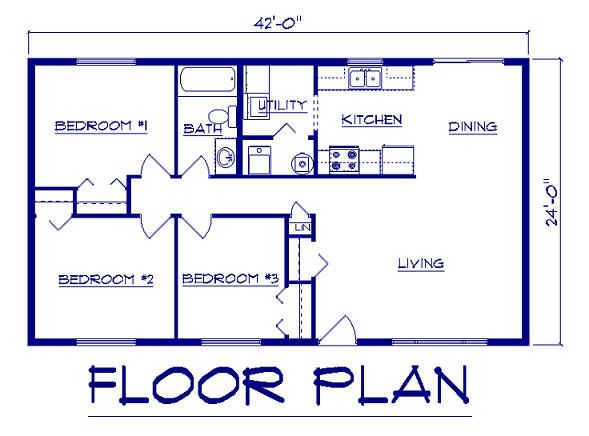 44 by 24 house plans ranch house plans from the house