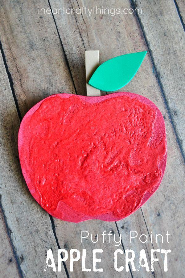 Apple Tree Preschool Craft