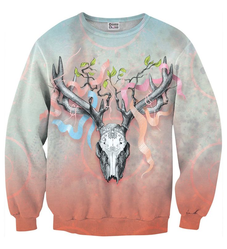 Deer Skull sweater, Mr. GUGU & Miss GO