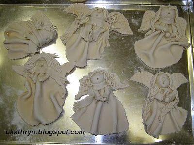 The best salt dough - angels