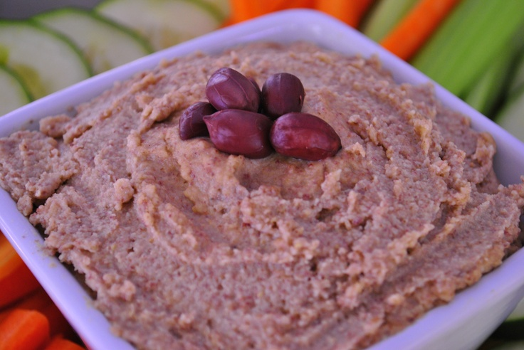 Boiled Peanut Hummus... this is my sister in law's recipe and it is ...