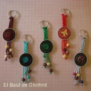 Key rings and crochet