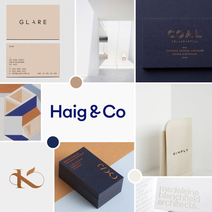Mood Board by #saltcreativestudio Navy and Tan and off white.