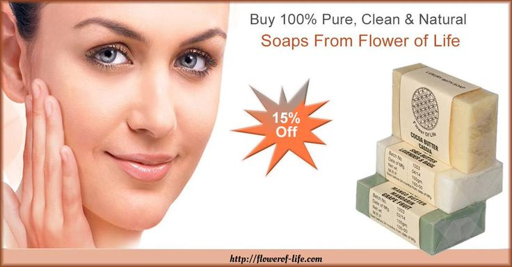 Buy 100% Pure, Clean & Natural Soaps http://www.amazon.in/s/ref=bl_sr_beauty?ie=UTF8&field-brandtextbin=Flower+of+Life&node=1355016031