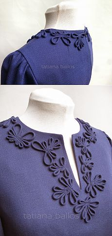 Tatianologia: Декор из вытачного шнура