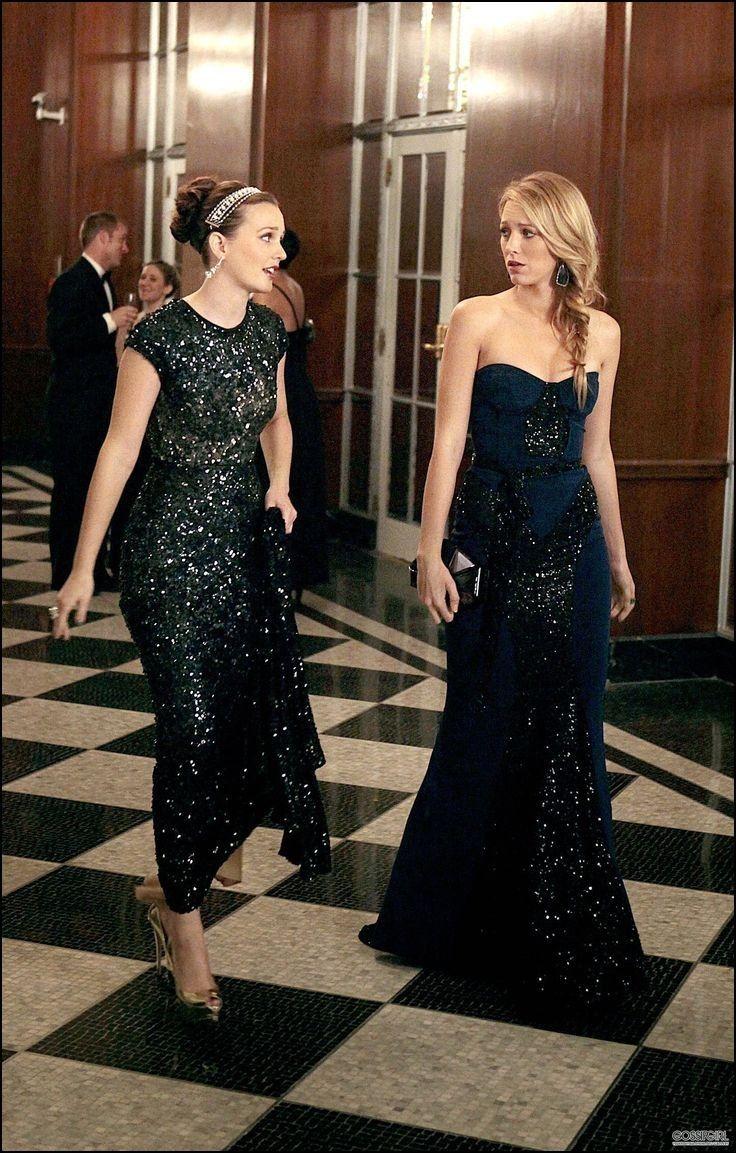 Gossip Girl evening Gowns