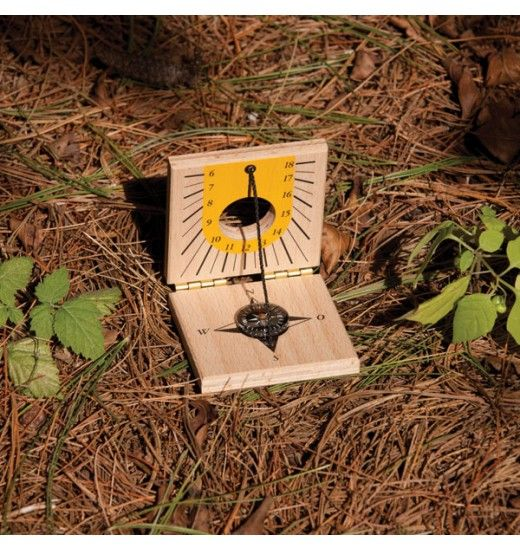 how to make wooden sundial