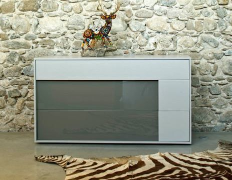 Zanette Kairos imaginative 3 drawer wide chest in colours   Robinsons Beds