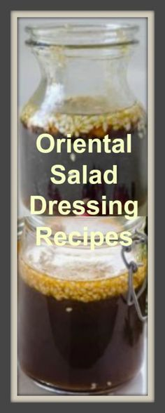 "Oriental Salad Dressing Recipe #carbswitch Please Repin Garlic Ginger Sesame Dressing Recipe AND Oriental Salad Dressing Recipe Asian Toasted Sesame Dressing Recipe ""The BEST Asian Toasted Sesame Dressing Recipe made healthy with orange juice, soy sauce, vinegar, maple syrup, toasted sesame oil and sesame…"""