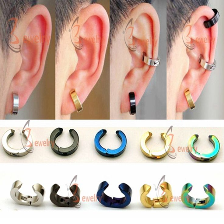 Fashion Ear Cuff Smooth Delicate Punk Clip Earrings For girls Men ear clips Jewelry women Wholesale without piercing earrings
