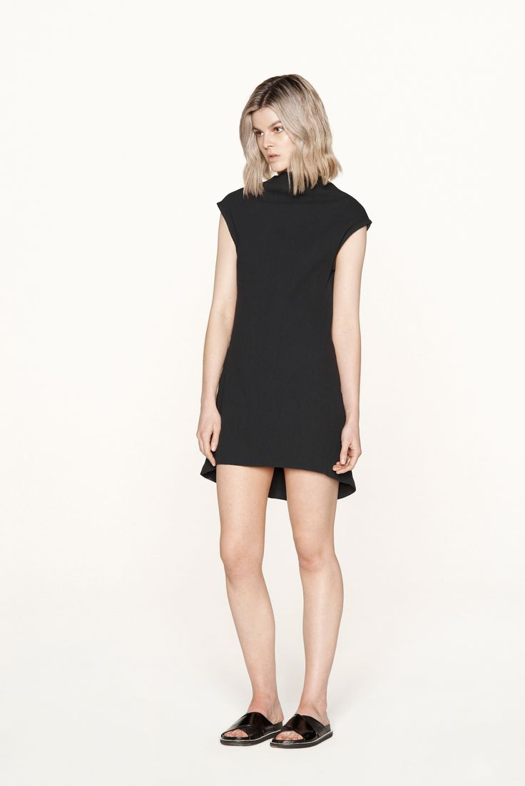 THIRD FORM RESORT 15 | MINI MAIKO DRESS #thirdform #fashion #streetstyle #minimal #trend #chic #dress #black