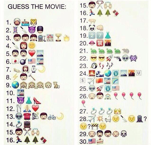 Emoji Quiz Emoji Quizzes Guess The Movie Movies Emoji Movie
