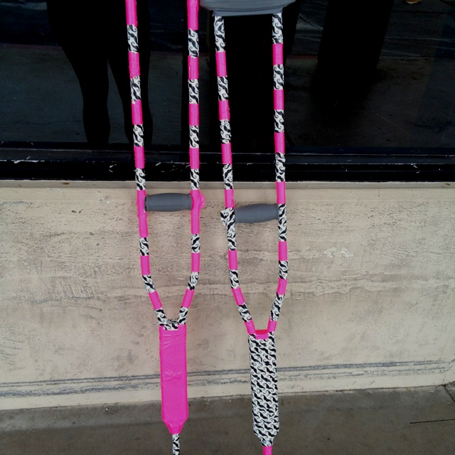74 best how to decorate your crutches images on pinterest crutches duct tape and time at least my crutches are fun solutioingenieria Images