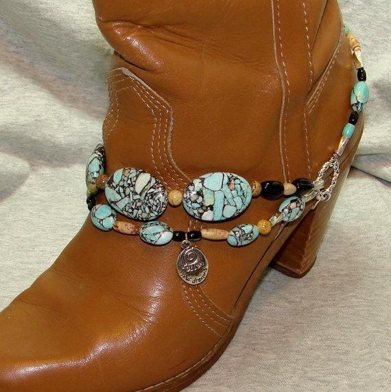 designing  Beaded boot bracelet. $26. http://etsy.me/JQbdgk