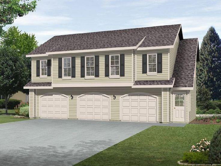 69 best carriage house plans images on pinterest garage Carriage house garage apartment plans