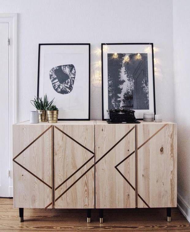 /Con un poco de imaginación, puedes convertir un mueble de IKEA en una pieza única para tu hogar./