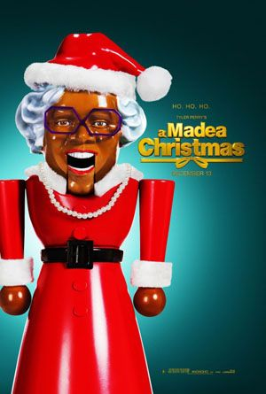 """A MADEA CHRISTMAS - There's a certain brilliance to the awfulness of """"A Madea Christmas,"""" so much that there's a tiny part of me that wonders if Tyler Perry's entire career is really a long con with his audience just to produce this movie. He takes all the dreadful stereotypes of race and flip-flops them black-to-white in this movie."""