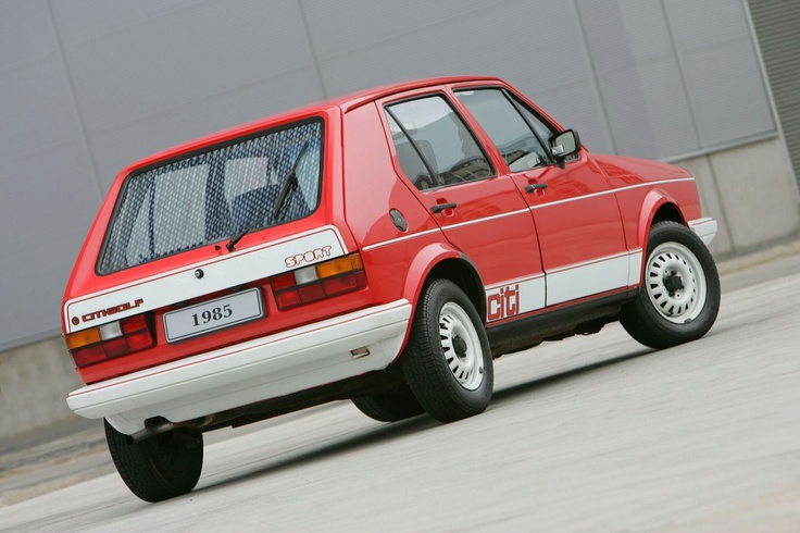Mk I VW Citi Golf Sport - Made in South Africa and only ceased production in 2009