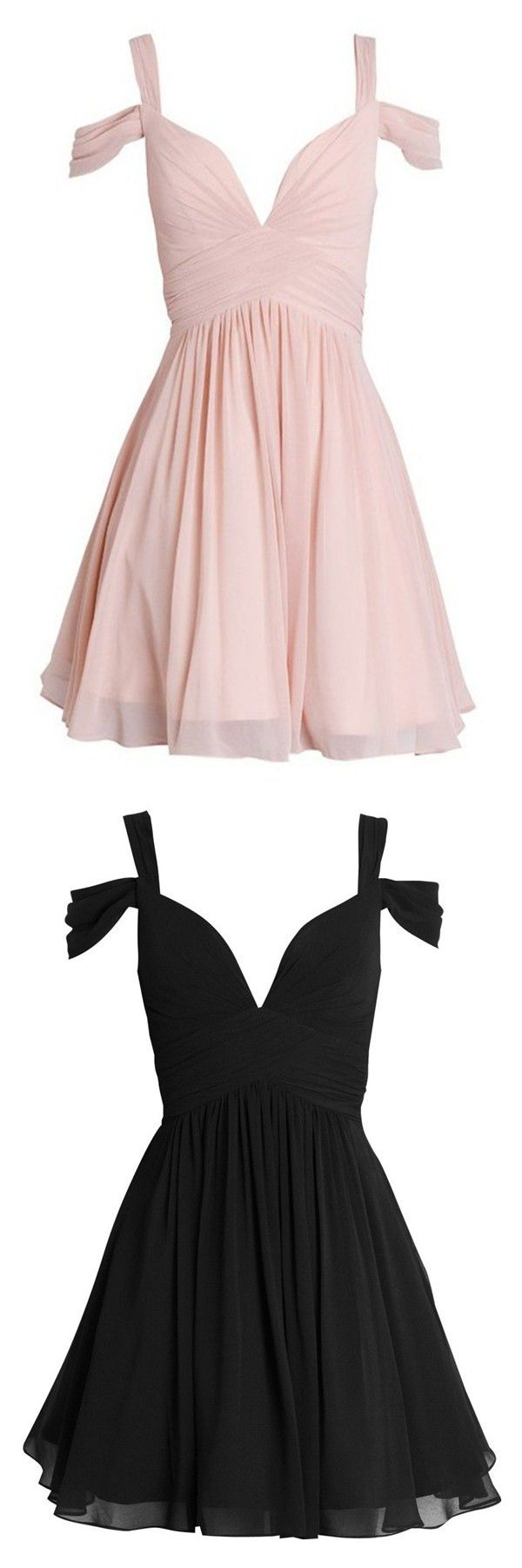 Cheap Pink And Black Party Dresses 66